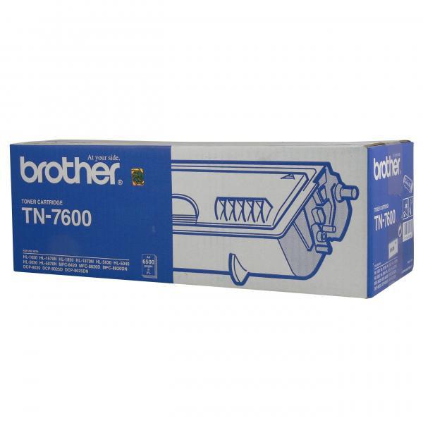 Brother originální toner TN7600, black, 6500str., Brother HL-1650, 1670N, 1850, 1870