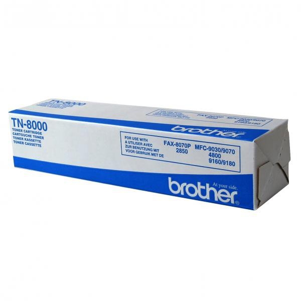 Brother originální toner TN8000, black, 2200str., Brother MFC-9070, 9180, 8070, 9160