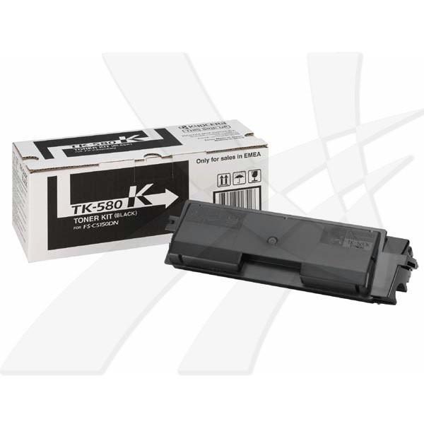 Kyocera originální toner TK580K, black, 3500str., Kyocera FS- C5150DN