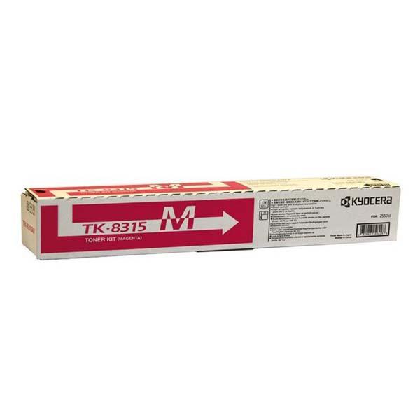 Kyocera originální toner TK8315M, magenta, 6000str., 1T02MVCNL0, Kyocera TASKalfa 2550CI