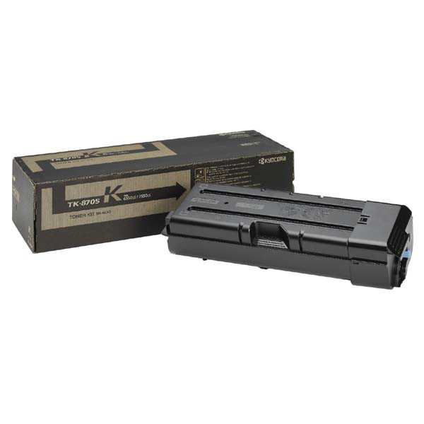 Kyocera originální toner TK8705K, black, 70000str., 1T02K90NL0, Kyocera TASLalfa 6550I, 7550I