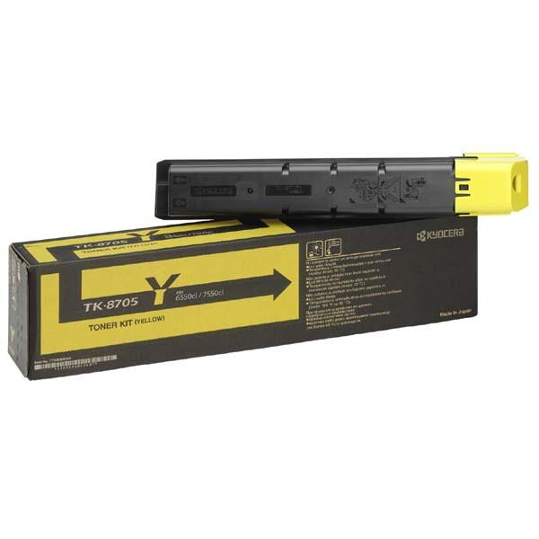 Kyocera originální toner TK8705Y, yellow, 30000str., 1T02K9ANL0, Kyocera TASLalfa 6550I, 7550I