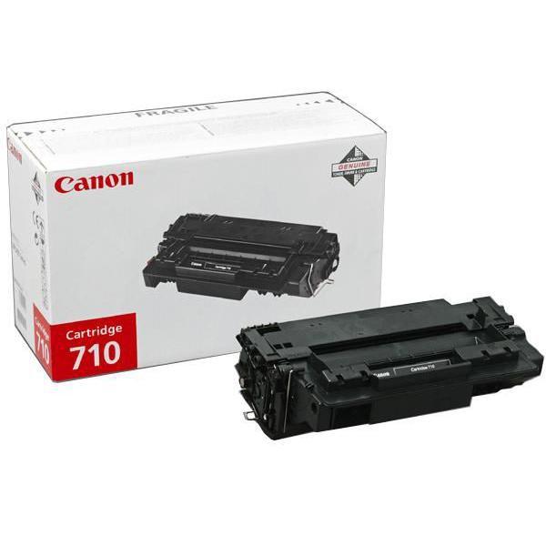 Canon originální toner CRG710, black, 6000str., 0985B001, Canon LBP-3460