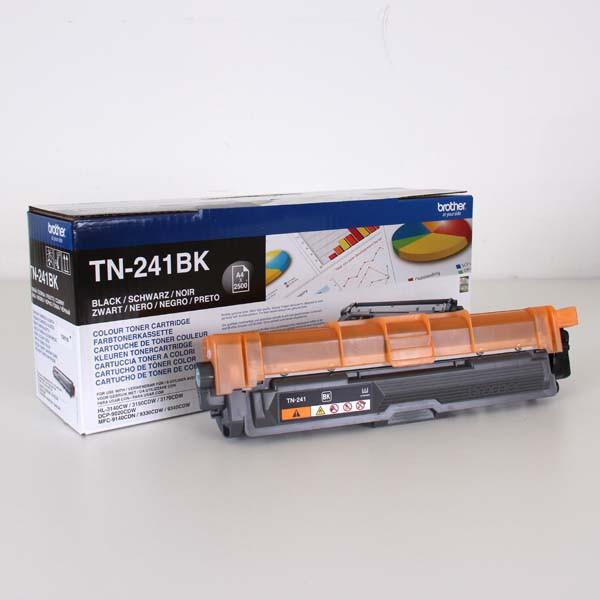 Brother originální toner TN241BK, black, 2500str., Brother HL-3140CW, 3170CW