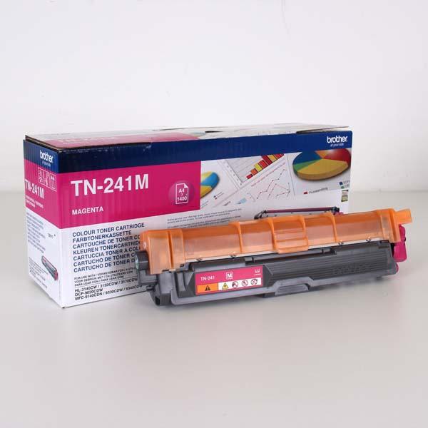 Brother originální toner TN241M, magenta, 1400str., Brother HL-3140CW, 3170CW