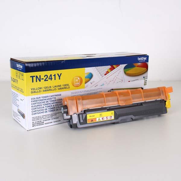 Brother originální toner TN241Y, yellow, 1400str., Brother HL-3140CW, 3170CW