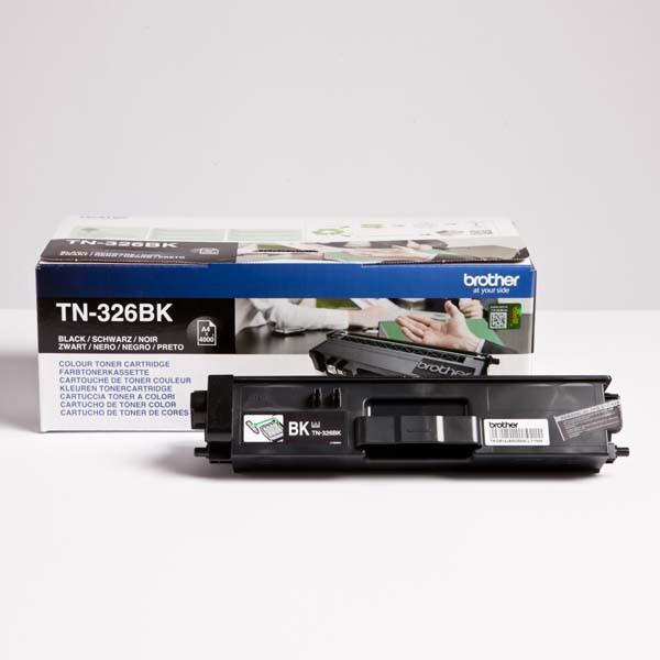 Brother originální toner TN-326BK, black, 4000str., Brother HL-L8350CDW, DCP-L8400CDN