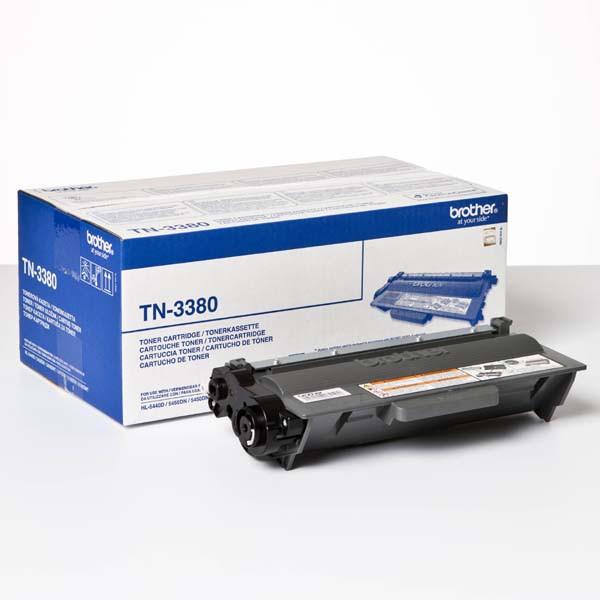 BROTHER TN-3380 - originální toner, černý, 8000 stran