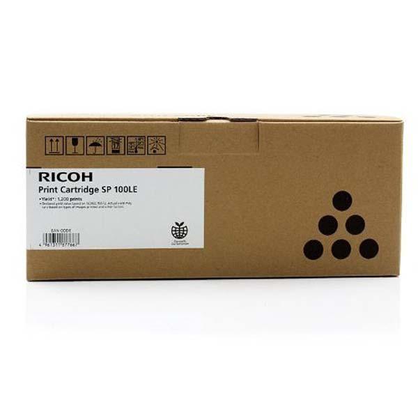Ricoh originální toner 407166, black, 1200str., 407166, Ricoh Ricoh Aficio SP100, SP100E, SP100SUe