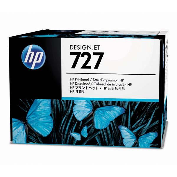 HP originální sada pro výměnu tiskové hlavy B3P06A, HP 727, CMYK, HP DesignJet T1500, T2500, T920