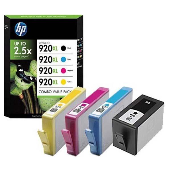 HP originální ink C2N92AE, HP 920XL, CMYK, HP 920XL, HP