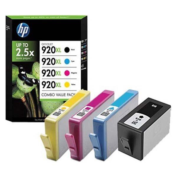 HP originální ink C2N92AE, CMYK, blistr, HP 920XL, HP