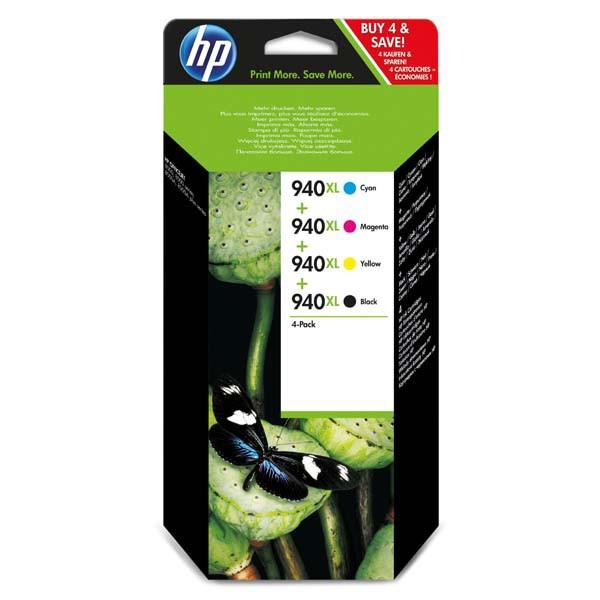 HP originální ink C2N93AE, HP 940XL, CMYK, HP 940XL, HP