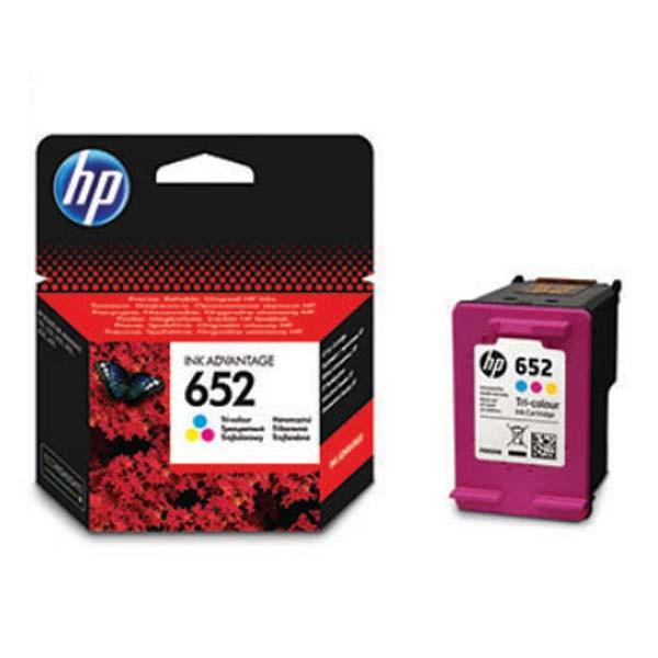 HP originální ink F6V24AE, HP 652, color, 200str., HP DeskJet IA 4530, 4535, 4675, 1115, 2135, 3635