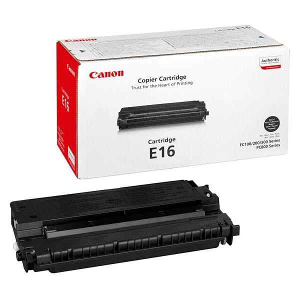 Canon originální toner 1492A003, black, 2000str., E16, Canon FC 120,200,204,224,280,336,PC 860,880,890