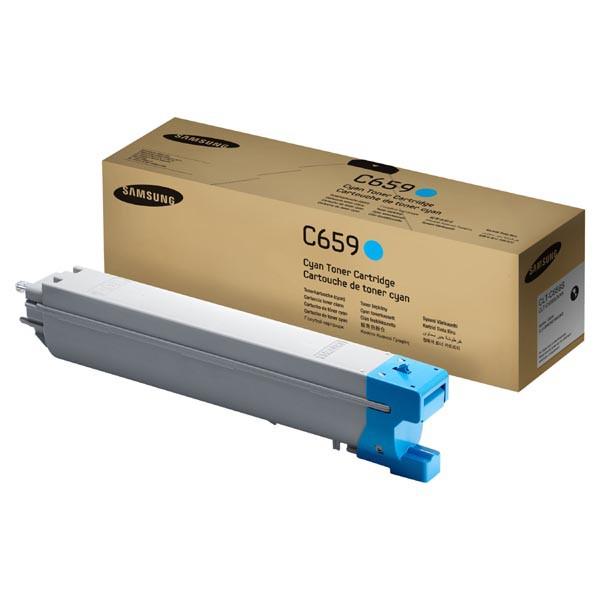 Samsung originální toner CLT-C659S, cyan, 20000str., Samsung CLX 8640ND, 8650ND