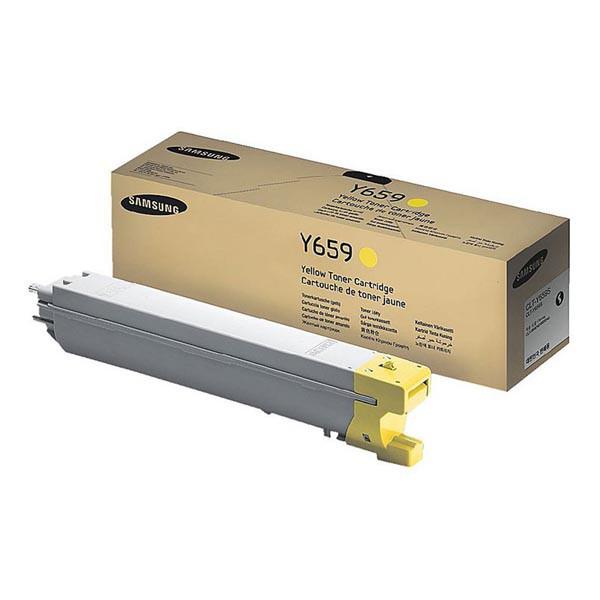 Samsung originální toner CLT-Y659S, yellow, 20000str., Samsung CLX 8640ND, 8650ND