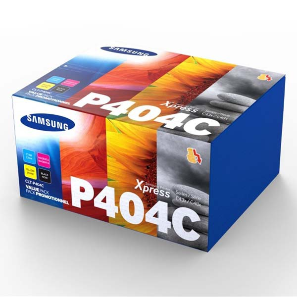 Samsung originální Rainbow toner kit CLT-P404C, CMYK, CMY 1000str., BK 1500str., Samsung Xpress C430W, C480FW, C480W, C480, C480FN