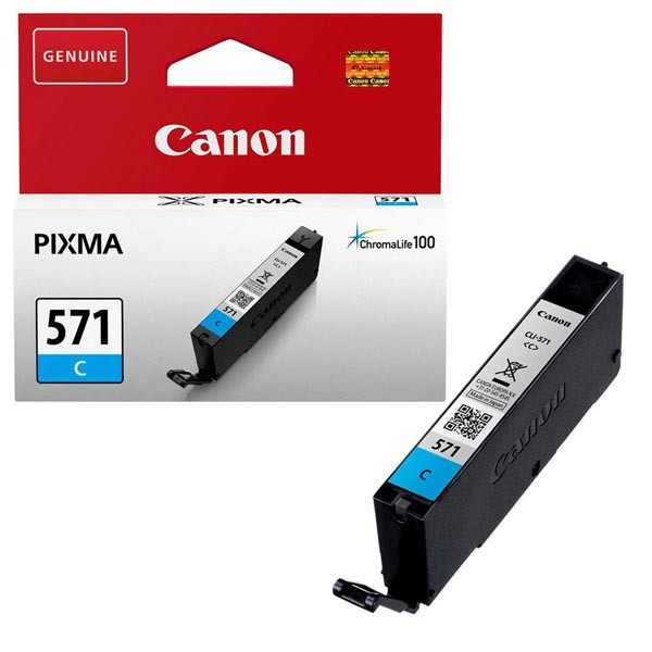 Canon originální ink 0386C001, cyan, 345str., 7 1ks, Canon PIXMA MG5750, MG5751, MG5752, MG5753, MG6851, MG68