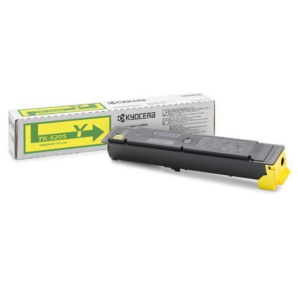 Kyocera originální toner TK-5205Y, yellow, 12000str., 1T02R5ANL0, Kyocera TASKalfa 356ci