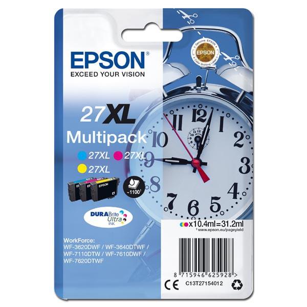 Epson T2715 (C13T27154012) - originální cartridge, barevná, 3x10,4ml
