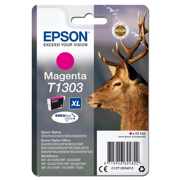 Epson T1303 (C13T13034012) - originální, magenta, 10,1ml