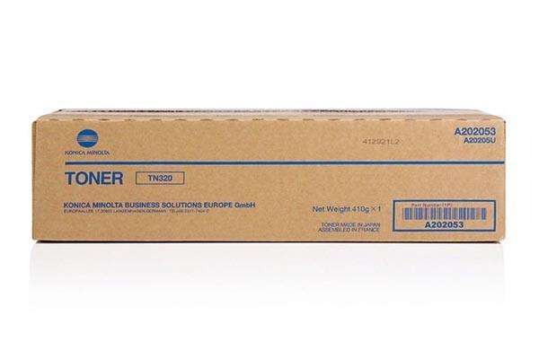 Konica Minolta originální toner TN320, black, 20000str., A202053, Konica Minolta Bizhub 36