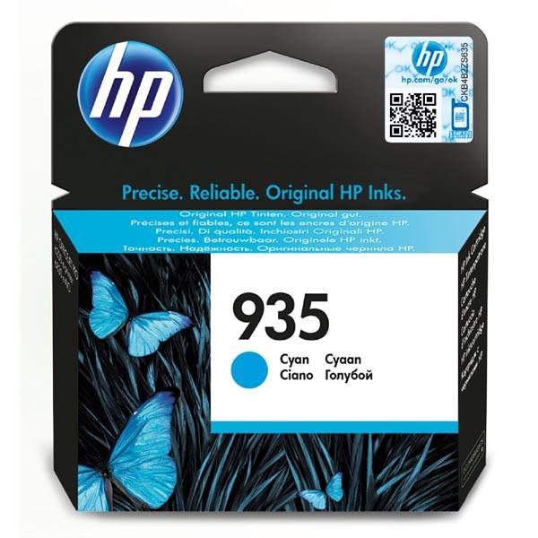 HP originální ink C2P20AE, HP 935, cyan, blistr, 400str., HP Officejet 6812,6815,Officejet Pro 6230,6830,6835