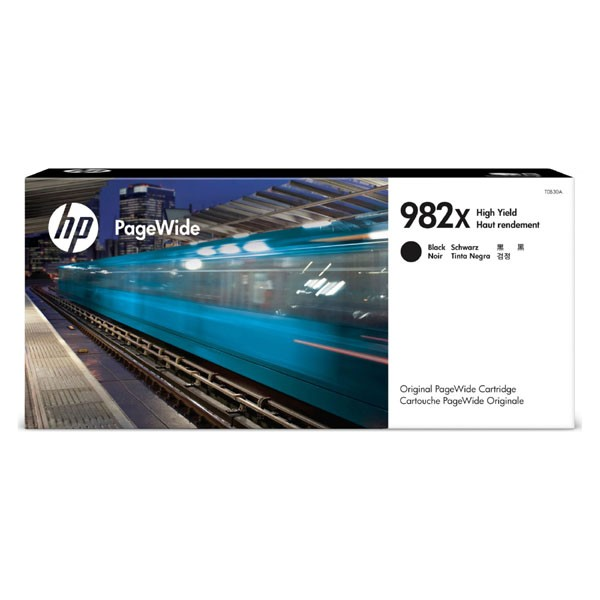 HP originální ink T0B30A, HP 982X, black, 20000str., high capacity, HP PageWide Enterprise Color 765, 780, 785 HP