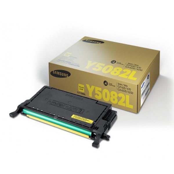 HP originální toner SU532A, CLT-Y5082L, yellow, 4000str., Y5082L, Samsung