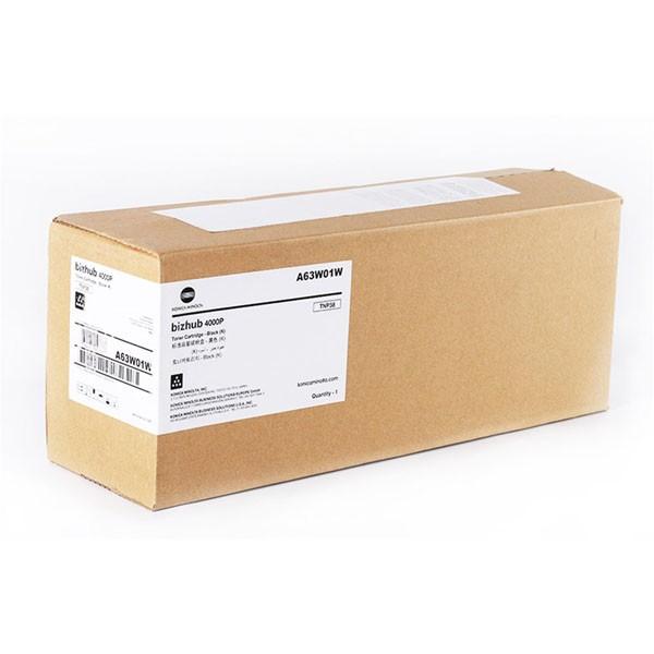 Konica Minolta originální toner A63W01W, black, 20000str., Konica Minolta bizhub 4000P
