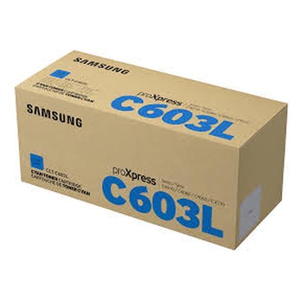 HP originální toner SU080A, CLT-C603L, cyan, 10000str., C603L, high capacity, Samsung ProXpress SL-C4010N, SL-C4010ND, SL-C4012ND,