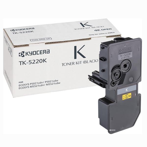 Kyocera Mita TK-5220 (TK-5220B) - originální, black, 1200 stran