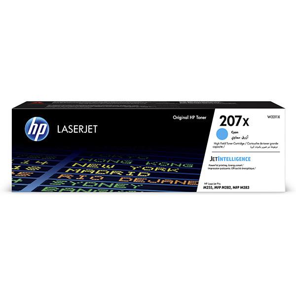 HP W2211X - originální toner HP 207X, azurový, 2450 stran