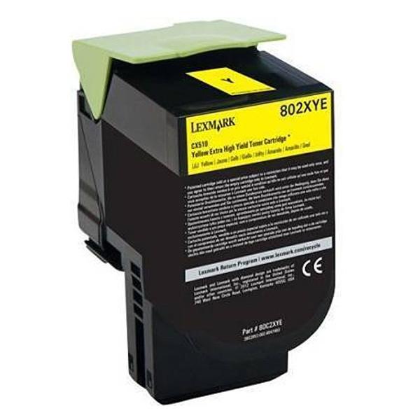 Lexmark originální toner 80C20YE, yellow, 1000str., return, Lexmark CX310dn, CX310n, CX410de, CX410