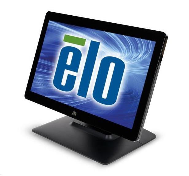 """ELO dotykový monitor 1502L 15.6"""" HD ready, CAP 10-touch USB bezrámečkový mini-VGA and HDMI Black"""