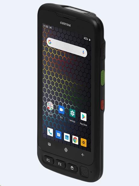 """Custom P-RANGER terminál RP340 5"""", Android 7, 4G, Scanner, Fingerprint"""