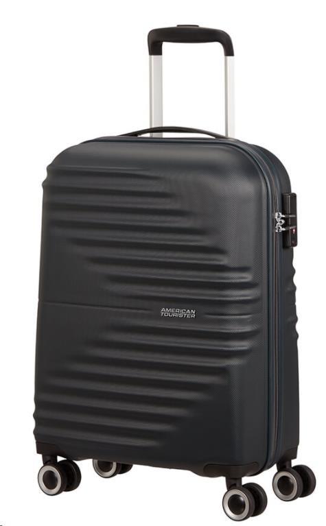 American Tourister WaveTwister SPINNER 55/20 TSA Universe Black