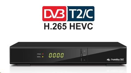 AB-COM SET TOP BOX CryptoBox 702T HD DVB-T2 CZ