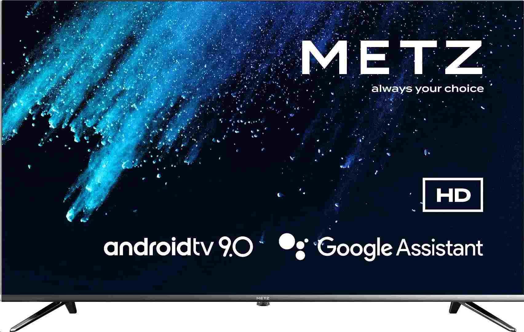 "METZ 32"" 32MTB7000Z, Android TV, LED, 81cm, HD (1366 x 768), 9ms, DVB-T2/S2/C, HDMI, USB"