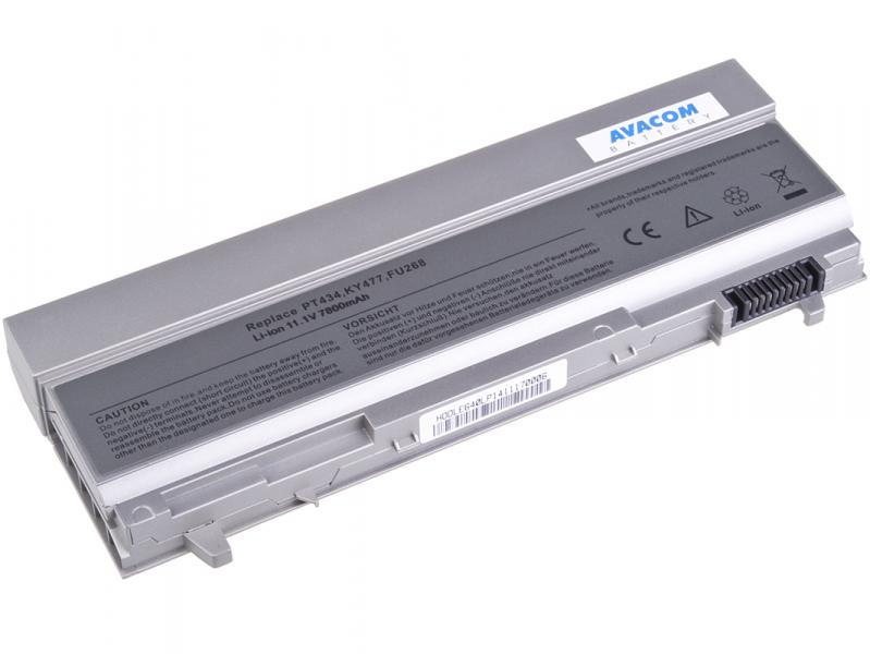 AVACOM baterie pro Dell Latitude E6400, E6410, E6500 Li-Ion 11, 1V 7800mAh / 87Wh