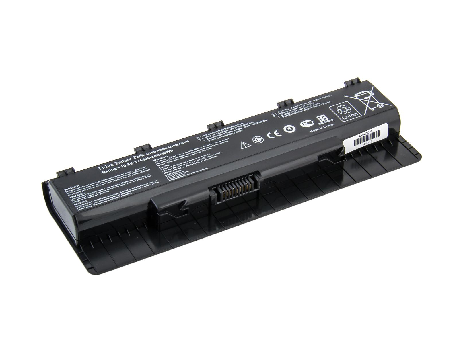 AVACOM baterie pro Asus N46, N56, N76 series A32-N56 Li-Ion 10, 8V 4400mAh