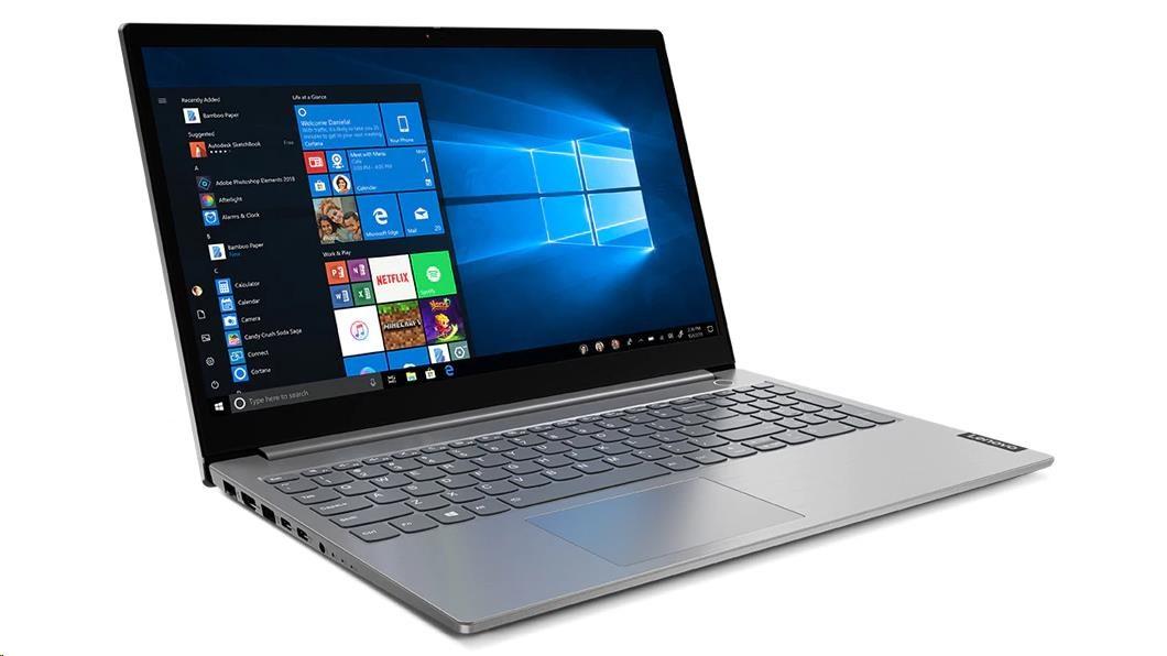 "LENOVO NTB ThinkBook 15-IIL - i5-1035G1@1.0GHz, 15.6"" FHD IPS mat, 16GB, 256SSD+1TB HDD, Radeon 630,"