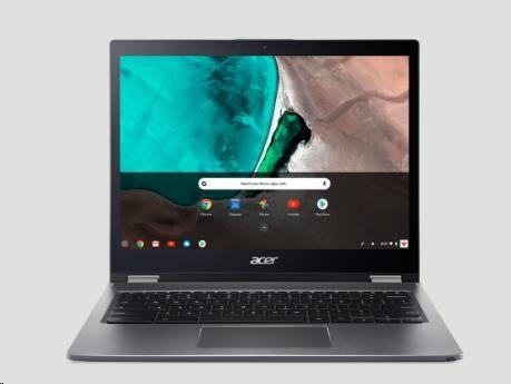 "ACER NTB Chromebook Spin 13 - i3-8130U@2.20 GHz, 8GB, 128GBSSD, 13.5"" IPS Touch, WIFI+BT, cam, USB3.0, USB Type-C, GC-OS, Šedá"