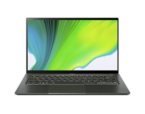 "ACER NTB Swift 5 AS - i5-1135G7@2.40GHz, 16GB, 512GBSSD, 14"" touch FHD, backl, cam, USB3.2, USB Type-C, W10P, Zelená"