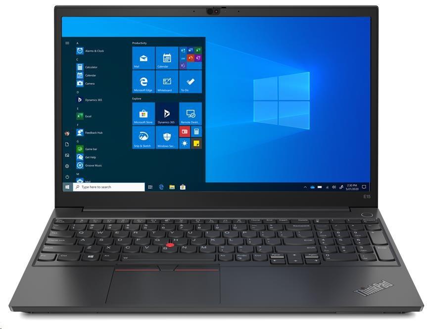 """LENOVO NTB ThinkPad E15 Gen2-ITU - i5-1135G7, 15.6"""" FHD IPS, 8GB, 256SSD, Intel UHD, 2xUSB, USB-C(TB"""