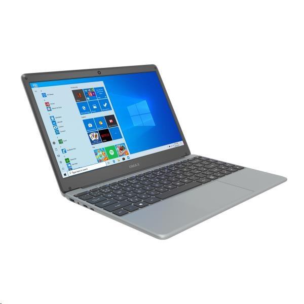 "UMAX NB VisionBook 13Wr Gray - 13, 3"" IPS FHD 1920x1080, Celeron N4020@1, 1 GHz, 4GB, 64GB, Intel UHD, W10P, šedá"