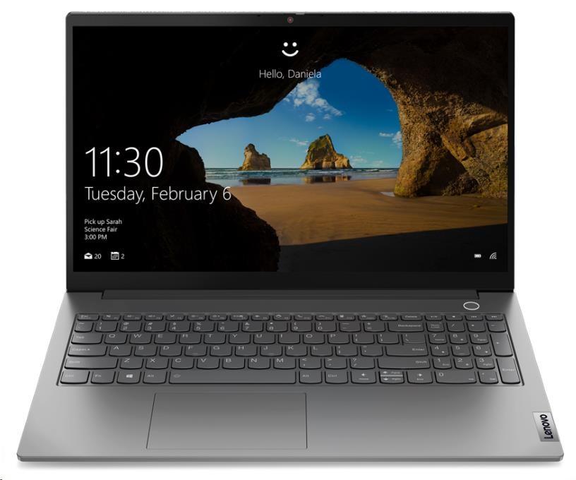 "LENOVO NTB ThinkBook 15 G2 ITL - i3-1115G4, 15.6"" FHD IPS, 8GB, 256SSD, HDMI, USB-C, TB4, W10H, 2r c"