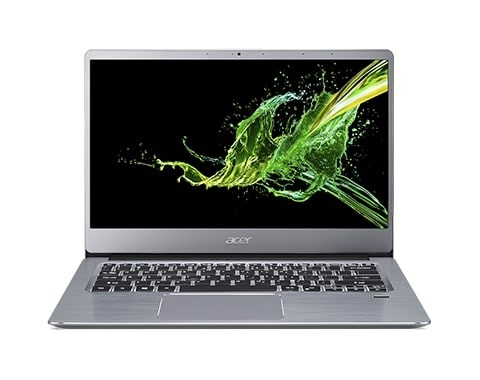 """ACER NTB Swift 3 (SF314-43-R9GS) - AMD Ryzen 7 5700U, 14"""" FHD IPS, 16GB, 512SSD, Radeon RX Vega 8, W10H, Stříbrná"""