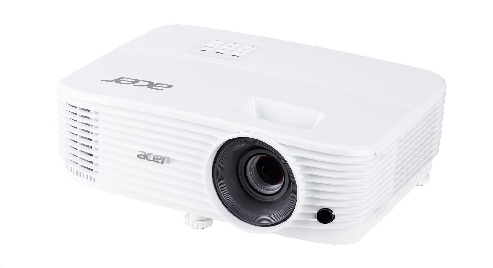 ACER Projektor P1255 - DLP 3D, XGA, 1024 x 768, 4000Lm, 20000/1, 2xHDMI
